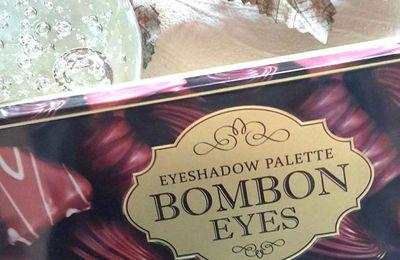 Zoom sur la palette Bonbon Eyes