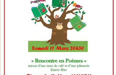 WEEK-END LITTERAIRE 11 ET 12 MARS 2017 - UN PETIT AIR DE CULTURE