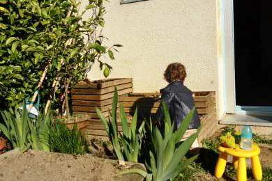 Ce samedi matin au jardin