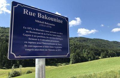 Saint-Imier a sa rue Bakounine