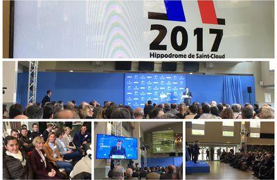 L'association JPFC assiste en direct aux discours des candidats à la Présidentielle (Hippodrome de Saint-Cloud)