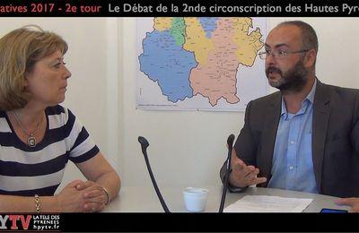 2d tour Législatives 2017 Hautes-Pyrénées - Jeanine Dubié (15 juin 2017)