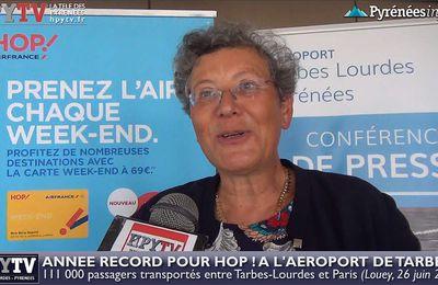 Année record pour Hop à l'aéroport de Tarbes (26 juin 2017) | HPyTv Tarbes