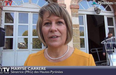 Maryse Carrère élue sénatrice (24 septembre 2017) | HPyTv Hautes-Pyrénées