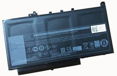 New 37Wh 11.1V PDNM2 579TY laptop battery for DELL LATITUDE E7470 E7270 High Quality