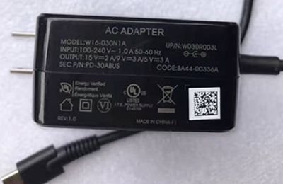 New 30W AC Adapter W16-030N1A For Samsung Chormebook Pro chromebook plus High Quality