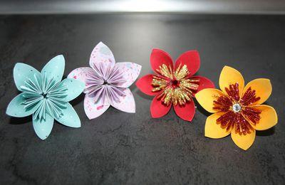 Faire des jolies fleurs en papier !!! DIY