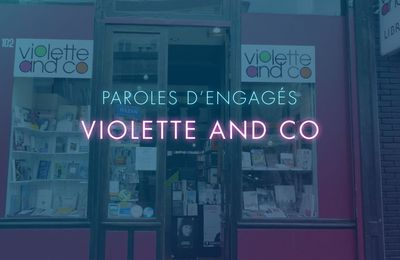 Rose à la librairie Violette and Co - PAROLES D'ENGAGÉS E05