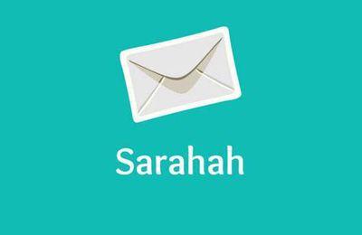 Sarahah, le récent réseau social qui sévit dangereusement chez les ados