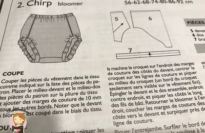 Bloomer ottobre + pas à pas
