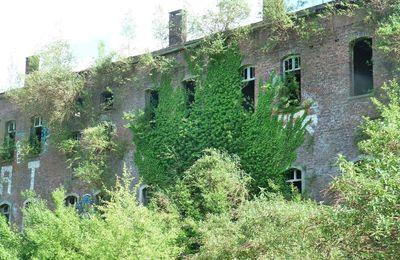 Le Fort de la Chartreuse abandonné et perdu dans un écrin de verdure