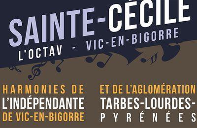 Les Harmonies de Tarbes Lourdes et Vic réunies pour Ste-Cécile / Pyrénées Infos