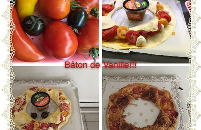 Couronne tomates poivrons