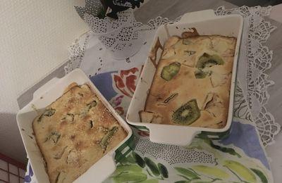 Petits clafoutis kiwi pommes avec mon l'Omnicuiseur Vitalité