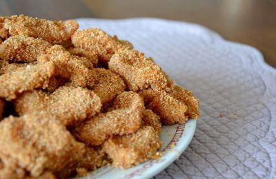 Nuggets de Poulet à la Noix de coco 450Kcal/personne