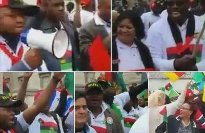 IPOB members stage protest at UN office in New York