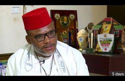 I am not afraid of any human being on earth – Nnamdi Kanu brags