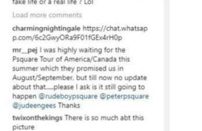 Paul Of Psquare Cancels Canadian/American Tour Amidst Reports Of Rift