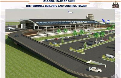 See the design view of proposed  Osun state Airport.