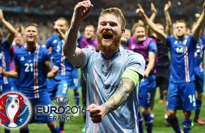 ANGLETERRE - ISLANDE : 1 - 2  (8eme de Finale - EURO 2016)