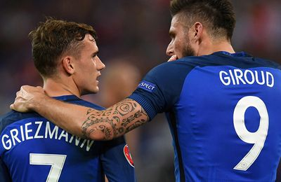 FRANCE - SUEDE : 2 - 1 (Eliminatoire WorldCup 2018 - Phase de Groupe)