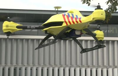 New Drone Company Plans To Deliver Defibrillators To 911 Callers