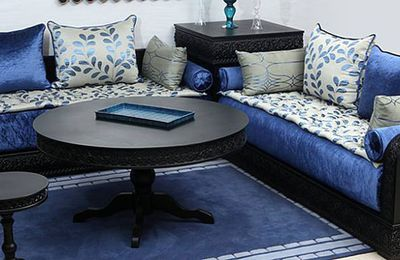 Vente salon marocain design moderne 2019 - Salon Déco Maroc