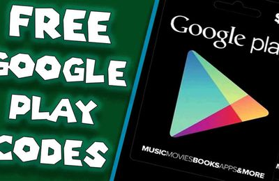 Redeem your Free Google Play gift cards Codes no human