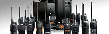An Array of Radios Available for People to Use for Entertainment and Work