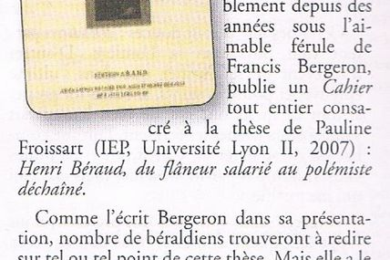 """Présent"" : CR cahier n°36"