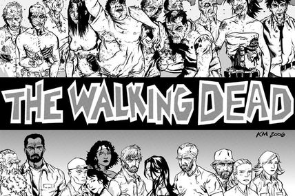 WALKING DEAD la BD