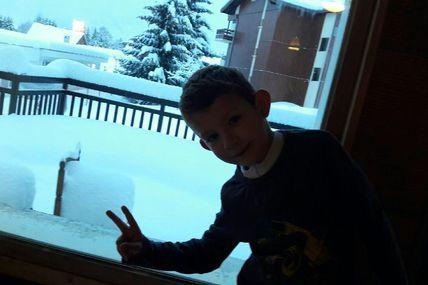 La neige elle est froide !!!