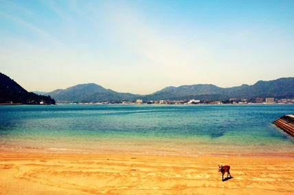 Travelling to Miyajima - April 2013