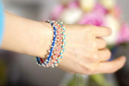 Diy Beaded Braided Bracelet