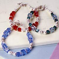 How to make a birthstone bracelet