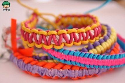 Handmade bohemian style bracelet