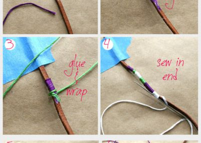 Handmade leather braided bracelet
