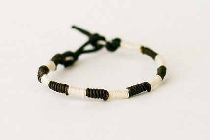 Men's braided bracelet tutorial