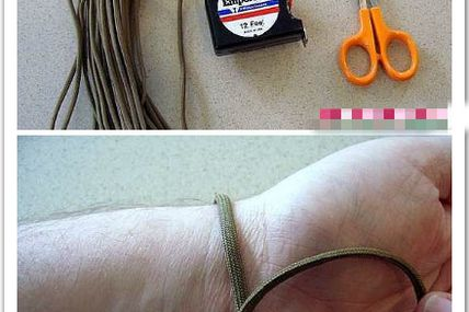 Stylish men's braided bracelet creating tips