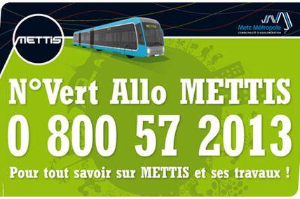 Metz Info travaux METTIS avenue de Strasbourg