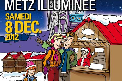 20ème Marche Metz Illuminée le samedi 8 décembre 2012
