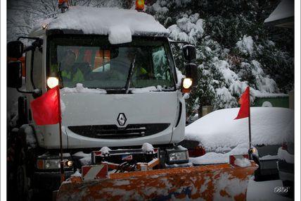 Metz retour des conditions hivernales