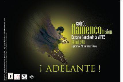 Metz vallières : Soirée flamenco le 18 mai 2013