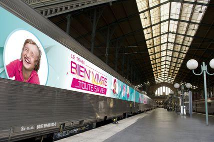 """Gare de Metz : Le train """"bien vivre...toute sa vie"""" le 12 septembre"""