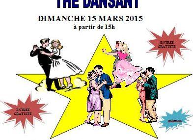Chesny Thé Dansant le dimanche 15 mars