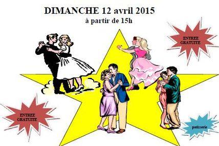 Chesny Thé Dansant le dimanche 12 avril 2015