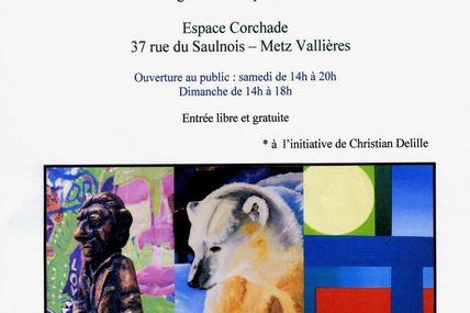 Metz Corchade Exposition Lez-Arts les 11 et 12 avril 2015