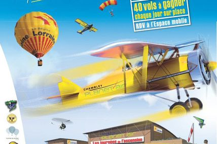 Chambley Planet'Air Les Journées de l'Ascension du 14 au 17 mai 2015