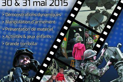 Thionville Portes ouvertes du 40e Régiment de Transmissions les 30 et 31 mai 2015