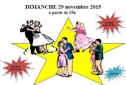 Chesny The Dansant dimanche 29 novembre 2015